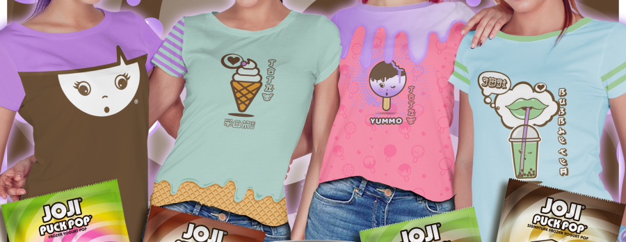 JOJI® Yogurt is a one of a kind Dessert Destination