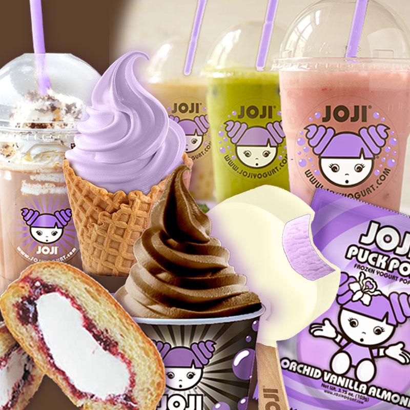 Joji Yogurt Dessert Bar